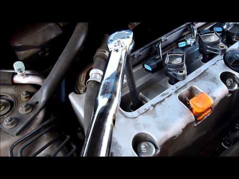 How To Replace Spark Plugs On Honda Accord 2.4 L iVTEC