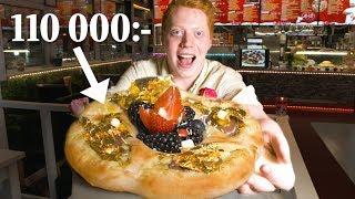 Smakar Sveriges dyraste pizza någonsin