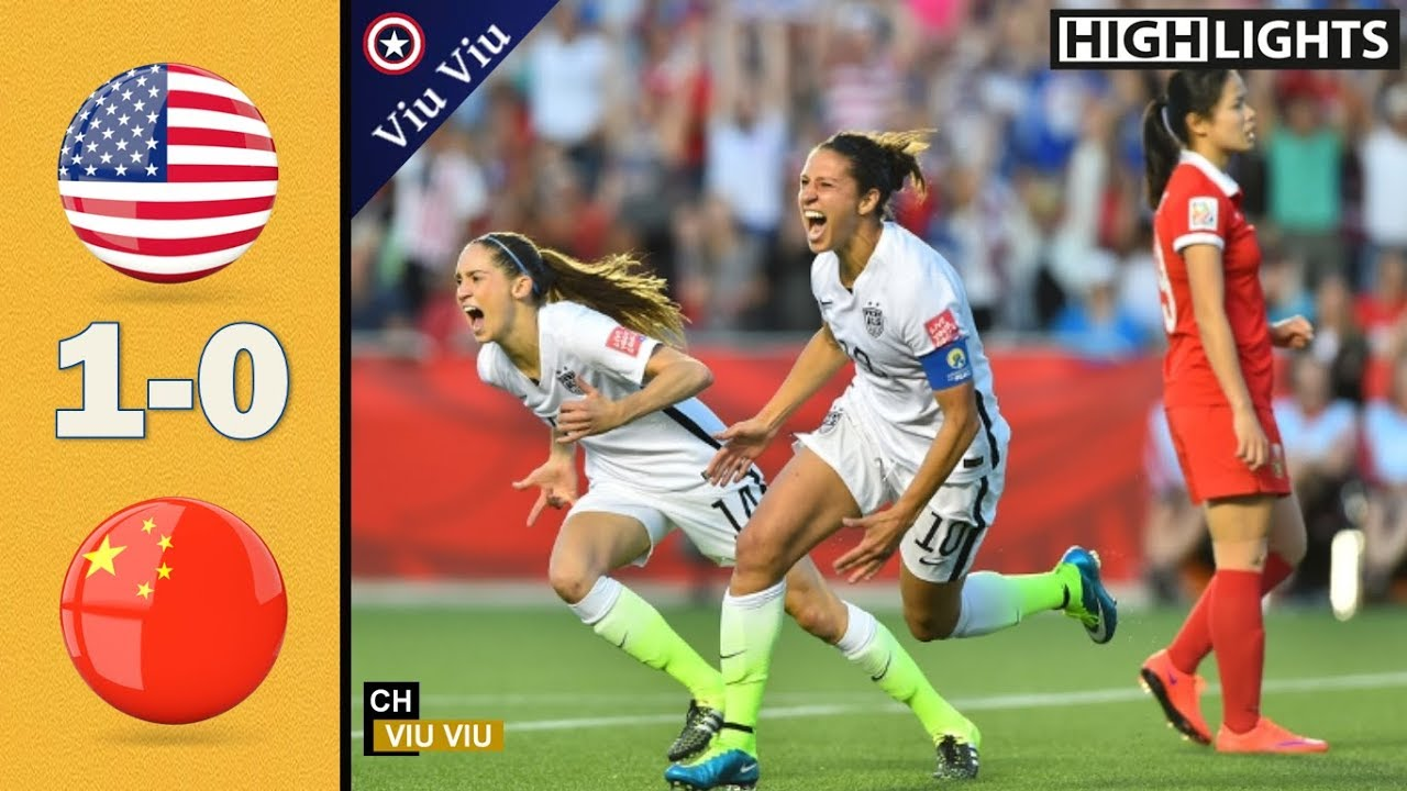 [ Quarter-Final ] USA vs China 1-0 Goal & Extended Highlights | 2015 WWC