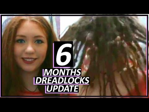 6 Months of Dreadlocks + Info About My Dreads | Aurella