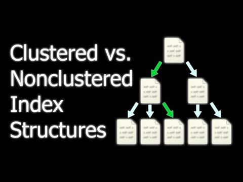 Clustered vs. Nonclustered Index Structures in SQL Server