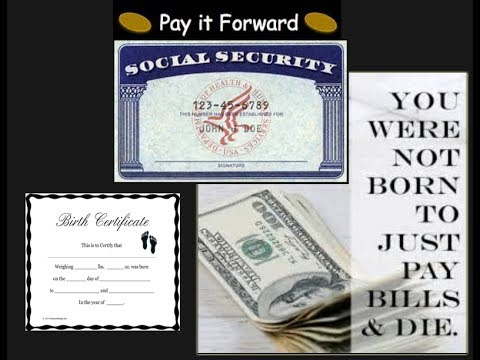 BELIEVE YOU CAN PAY BILLS WITH YOUR SOCIAL SECURITY NUMBER