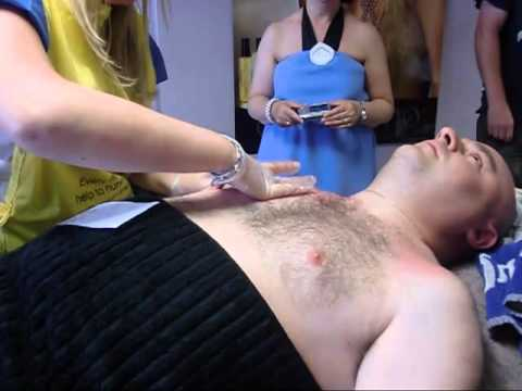 Chest Waxing for Marie Curie UK