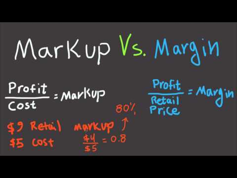 Markup and Margin Explained For The Beginners