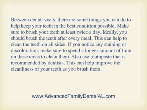 Tips to help keep your Teeth Clean
