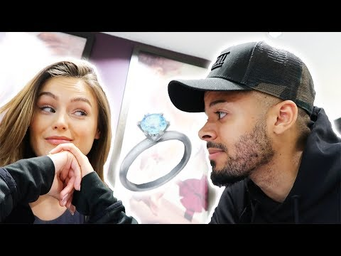 TRYING ON ENGAGEMENT RINGS | Shauna Louise