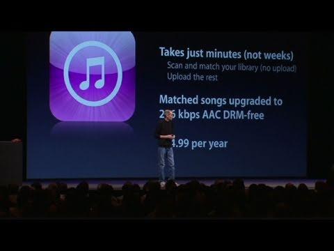 CNN: Jobs talks new 'iTunes Match'