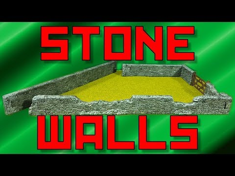 Painting Warlord Stone Walls [28mm]