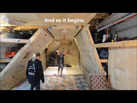 Epic Garage Bouldering Cave Complete Reboot 2017