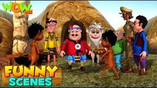 BEST SCENES of MOTU PATLU | FUNNY Cartoons in Hindi | Wow Kidz | Compilation 32