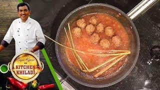 Sanjeev Kapoor Ke Kitchen Khiladi - Ep 14 - Kheema Koftani and Pan Platter