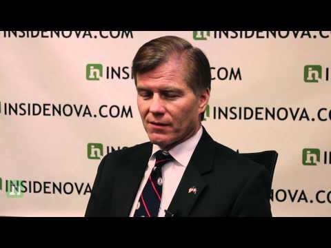 Virginia Gov. Bob McDonnell on jobs