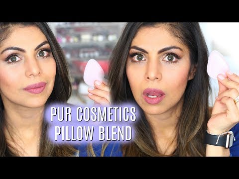 Does it Work?!  PUR Cosmetics Pillow Blend Makeup Applicator FIRST IMPRESSION| FABIOLAG