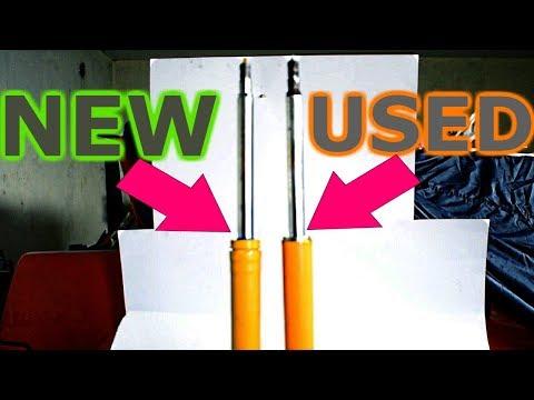 Koni yellow sport shocks: NEW vs. USED