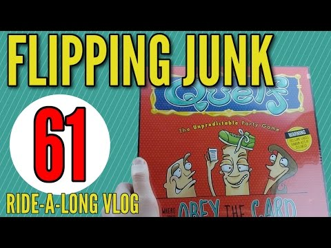 Flipping Junk [61] Buying From Goodwill and Thrift Shops to Sell Online and Make a Living