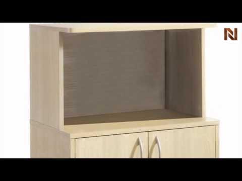 Nexera Storage Microwave Cart 599