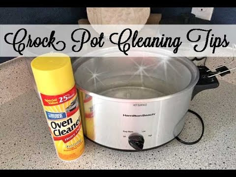 Crock Pot Cleaning Tips | #45