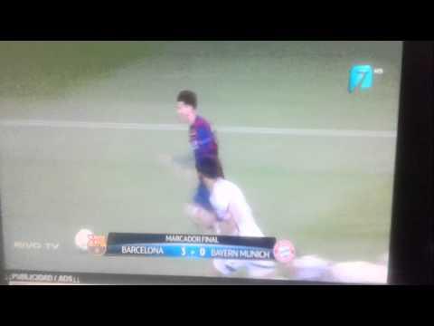 BARCELONA VS BAYER MUNICH  HIGHLIGHTS  ( 3 a 0 ) 5/06/2015