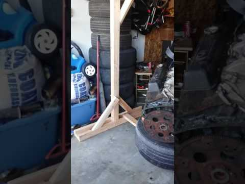 Home made engine hoist