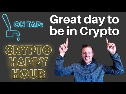 Crypto Happy Hour - Awesome Day in the Crypto Markets - Valentines Day Edition