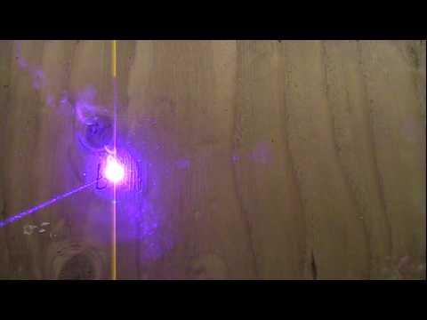 My 445nm 1.1W Handheld Laser