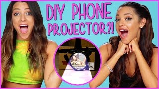 DIY Phone Projector?! | Niki And Gabi DIY or Di-Don