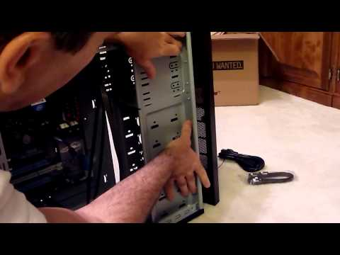 PC 12: Installing the DVD Drive into the Case