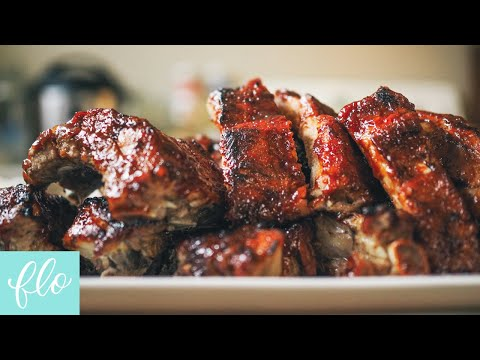 Instant Pot Pressure Cooker Barbecue Ribs