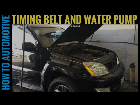How to Replace the Water Pump and Timing Belt on a 2009 Lexus GX470