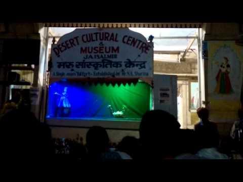Video of Puppet Show in Hindi  at Jaisalmer Rajasthan