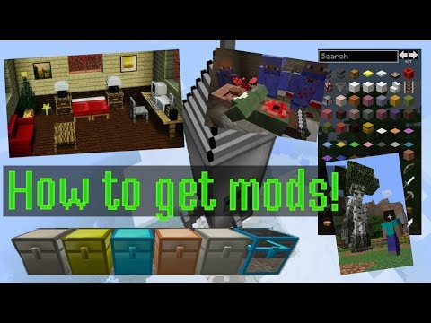 HOW TO GET MINECRAFT PC MODS! EASY! FREE! 1.12.1! FORGE! WINDOWS 10! (NO VIRUS)