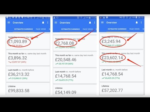 How to make money with google Adsense 2017 - How to get traffic free for google Adsense 2017