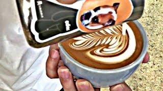Satisfying Barista Latte Art Training Compilation | The
