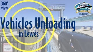 360° View: Vehicles Unloading in Lewes