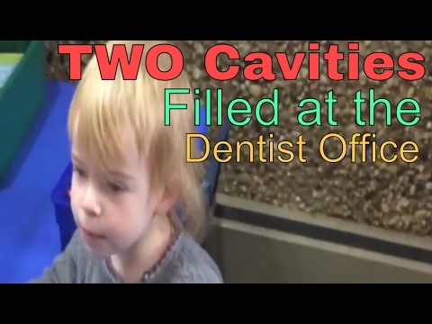 Toddler Gets Cavity Filled
