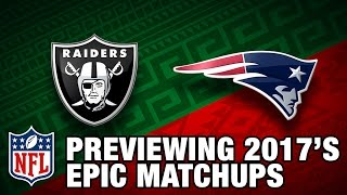 NFL 2017 Epic Matchups Trailers | NFL Schedule Release