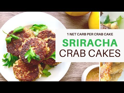 CRAB CAKES   #SRIRACHA   1 NET CARB   KETO   FLAVOR GOD   #LCHF   #KETOGNICDIET