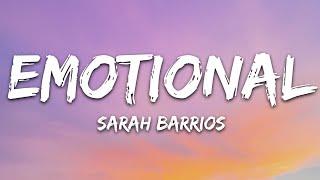 Sarah Barrios - Emotional (Lyrics)
