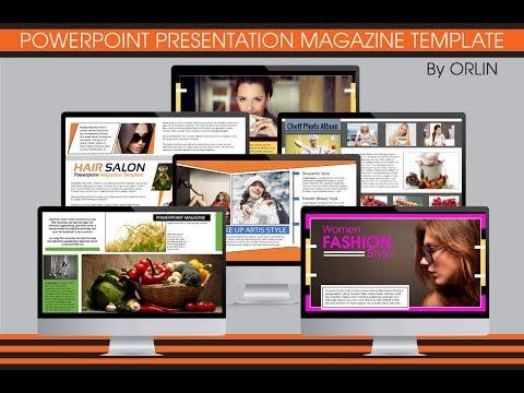 Multipurpose Powerpoint Magazine Template