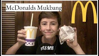 ASMR • McDonalds Mukbang - Mouth Sounds/Chewing/Whispering