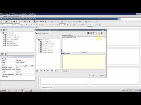 IBM Cognos 10 Report Studio Filter