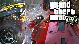 GTA V Online: TERRÍVEL ACIDENTE!