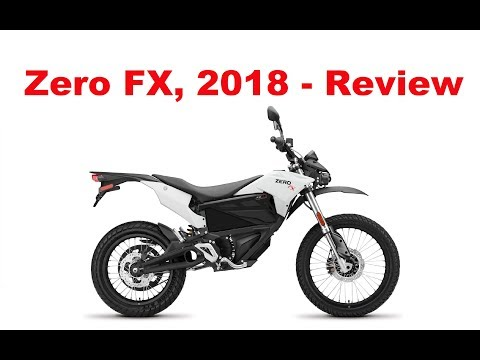 Zero FX - 2018 - Electric Motorcycle - Test Ride & Review