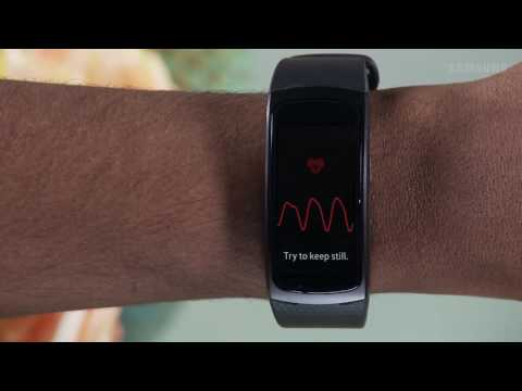 Heart Rate Monitor - Samsung Gear Fit2 (SM-R360)