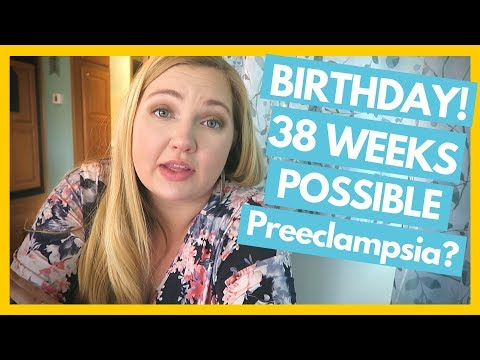 28th Birthday, Midwife Appt. 38 Weeks Pregnant Possible Preeclampsia? Full Time RV Family