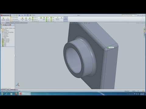 SolidWorks 2013 Tutorial Lesson 1 HD
