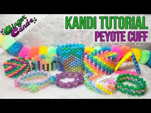 Beginner Kandi Cuff - [Kandi Tutorial] | @GingerCandE