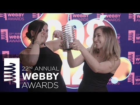 Bon Appétit's 5-Word Speech at the 22nd  Annual Webby Awards