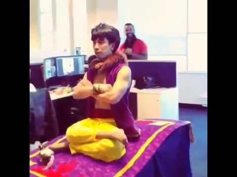 Aladdin costume - 2014 Halloween