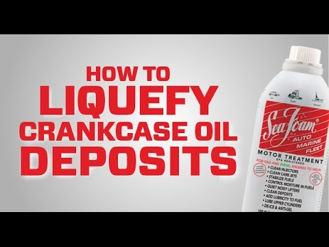 Clean harmful deposits from your oil crankcase